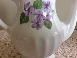 English Violets Detail