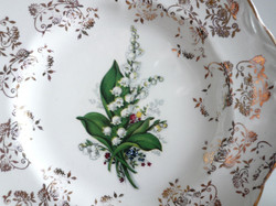 Lilly of the Valley Plate Detail
