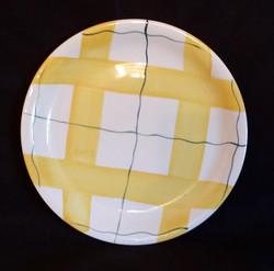 Habitant Yellow Plate