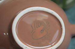 Holiday Brown Teapot Backstamp