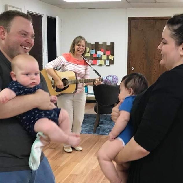 Music therapy facilitates interaction