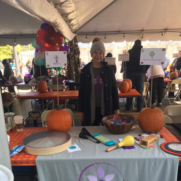 Mount Prospect Downtown Merchants Fall Festival Trick or Treat Line