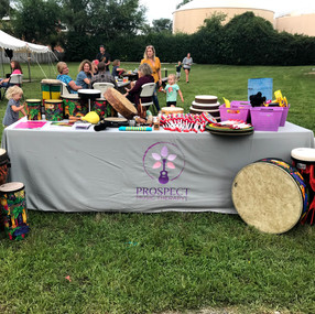 The 56 Music Fix 2019 Drum Circle, lead by Prospect Music Therapy