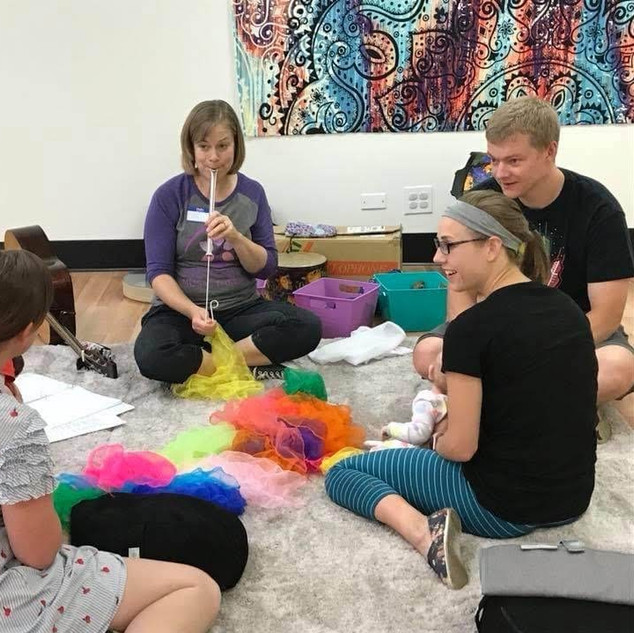 Music therapy facilitates new experiences