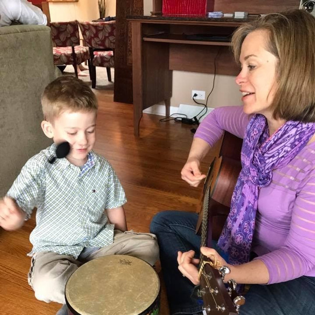 Music therapy facilitates regulation