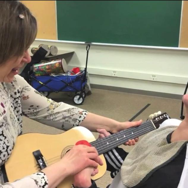 Music therapy facilitates joy