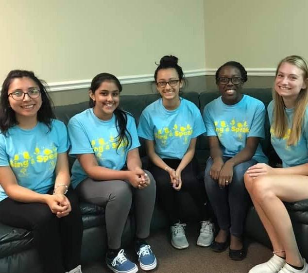 Sing and Speak Summer Camp 2019 Volunteers