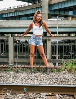 Janet Johnson Train Tracks