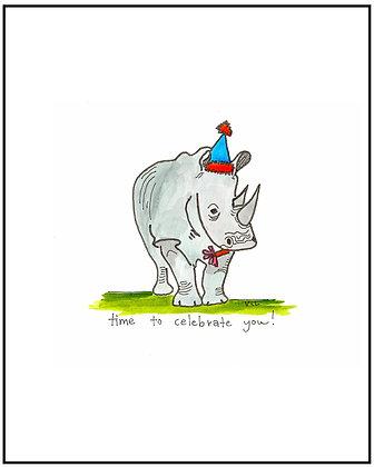 Party Rhino