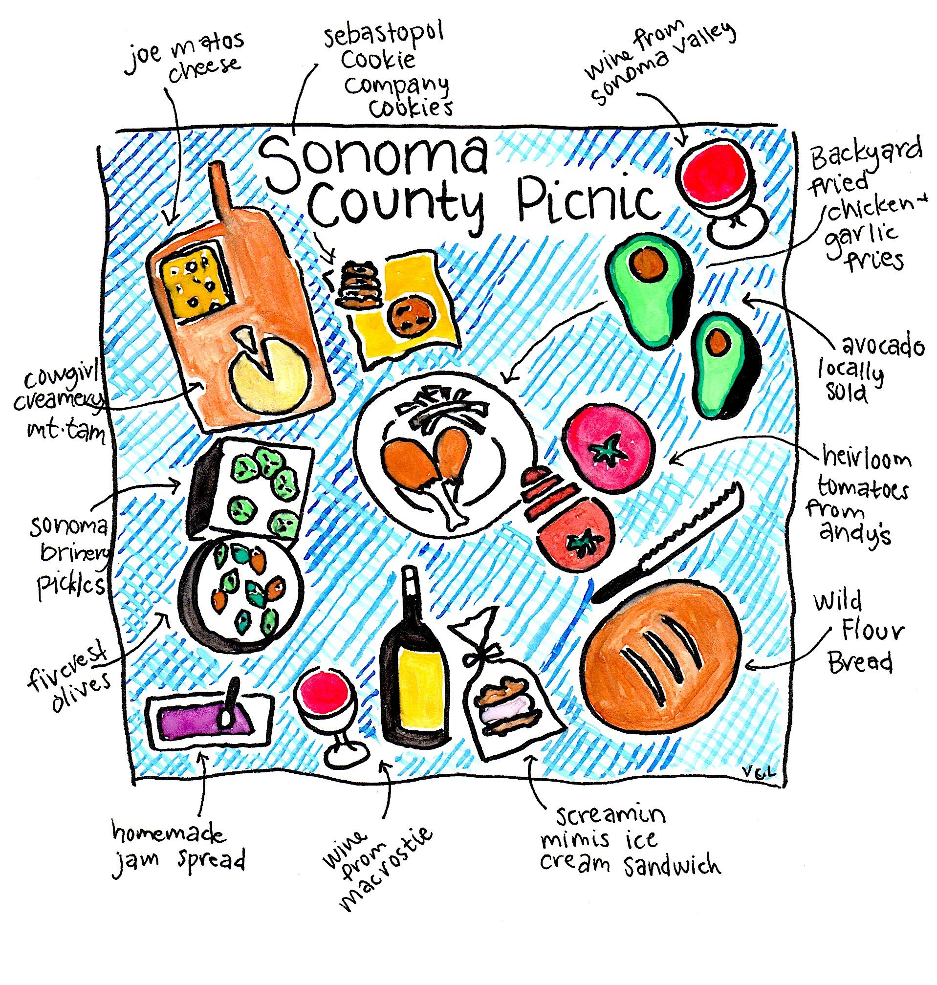 Sonoma County Picnic
