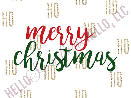 Merry Christmas | Single Card