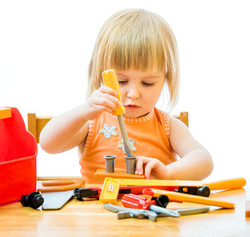 Play Therapy with tools