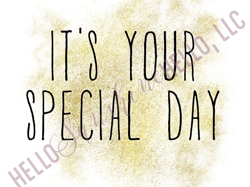 Special Day | Single Card