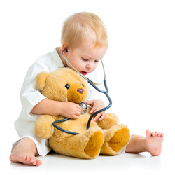 Child therapy healing bear