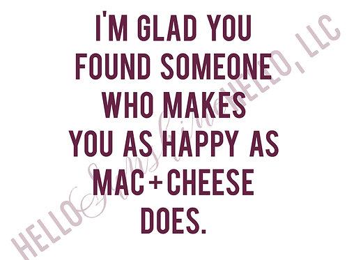 Mac + Cheese | Single Card