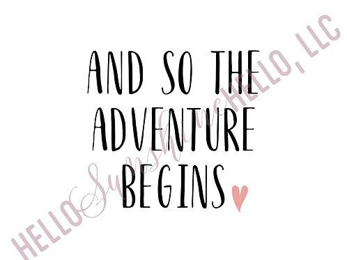 Adventure Begins | Single Card