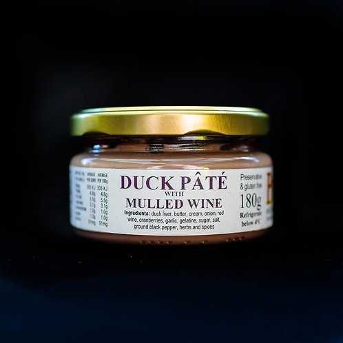 Duck & Mulled Wine Pate
