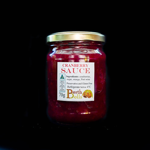 Cranberry, Port & Orange Sauce
