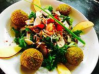 """La salade de chèvre """" saumon-aneth """", mesclun fraîcheur"""