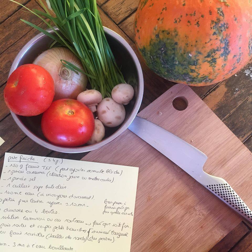 atelier de cuisine Vegan/Végé