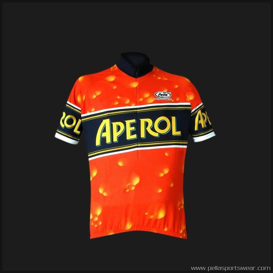 Pella Aperol Short Sleeve Jersey