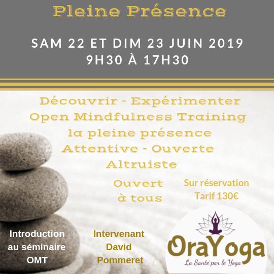 WEEKEND Méditation Pleine Présence