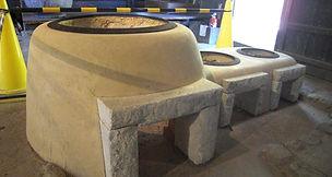 伝統工法  引き物、研ぎ出し、洗い出し、土壁