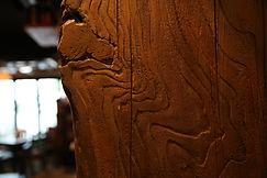 モルタル造形 擬石、擬岩、擬木