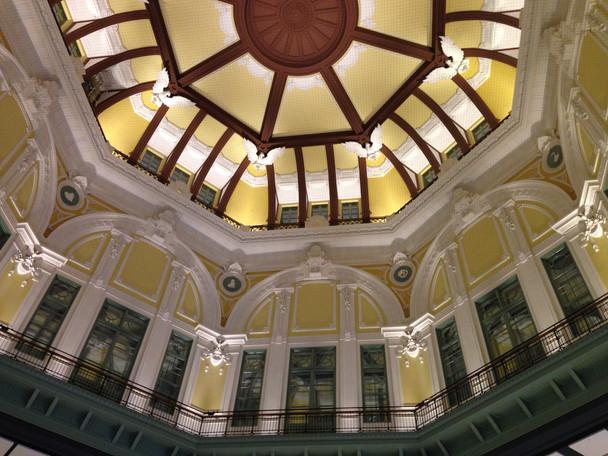 東京駅、丸の内駅舎の復原工事