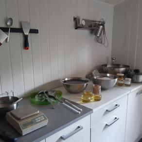Le laboratoire de la savonnerie