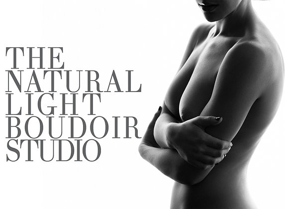 The Natural Light Boudoir Studio - With Mentoring