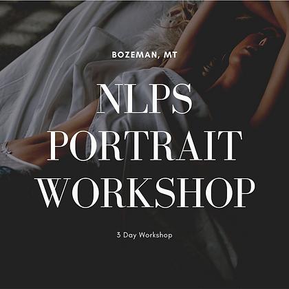 October 19, 20 & 21, 2021 NLPS Portrait Workshop