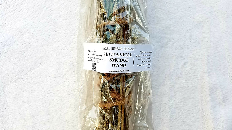 Botanical Smudge Wand | Protections & Manifestation