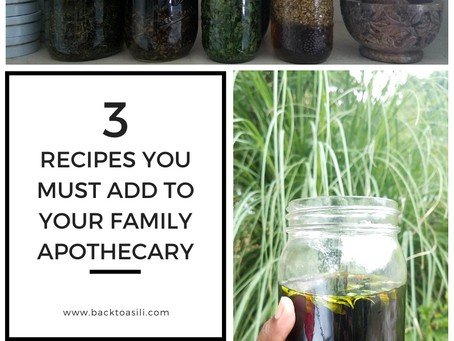 Plant Medicine for Family Wellness + 3 Recipes for Your Home Apothecary