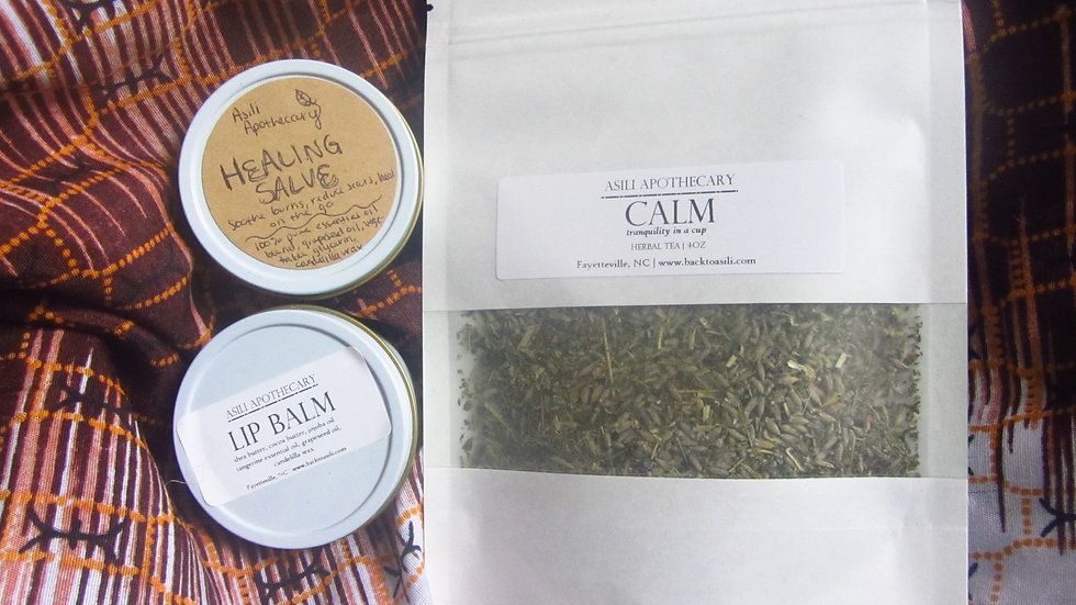 HOLISTIC KIDS KIT | Holiday Gift Kits | Tea, Salves, Extracts, Affirmation Card