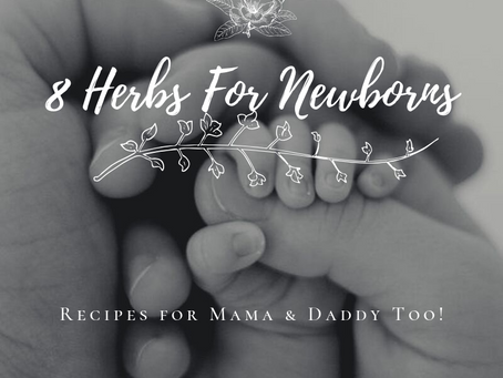 8 Herbs for Newborns