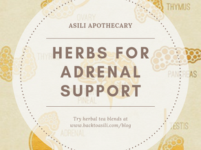 Herbal Teas for Adrenal Support + 5 Recipes