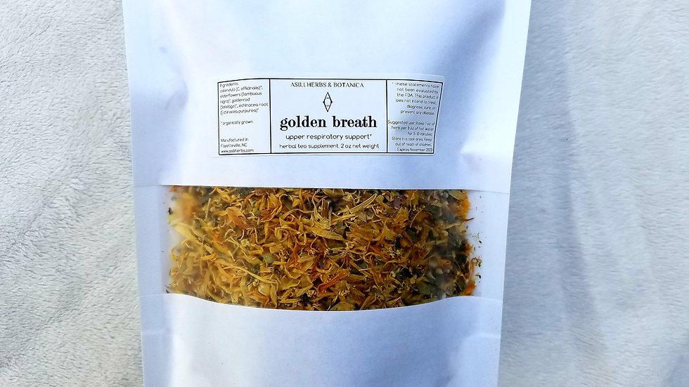 GOLDEN BREATH Herbal Tea