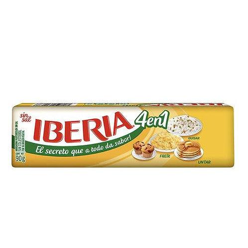 Margarina Iberia 4 en 1 sin sal