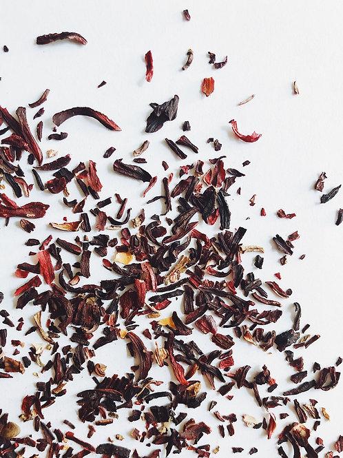 100% Hibiscus Flower Herbal Tea