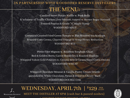 BOURBON DINNER | April 7th, 2021