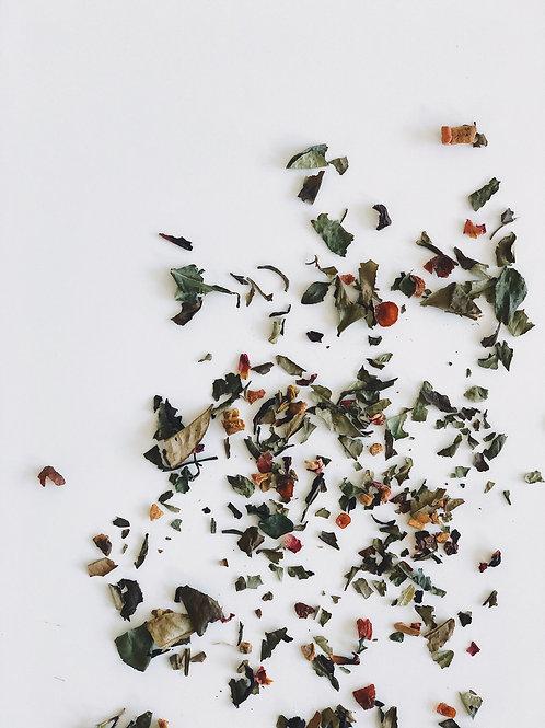 Spiced Anjou Pear White Tea {Organic}