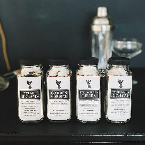 Botanical Syrups Set {4 pk}