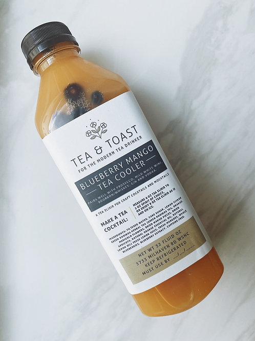 Blueberry Mango Tea Cooler
