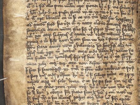 Неучтенная «Belg-rún» в исландской рукописи XV века