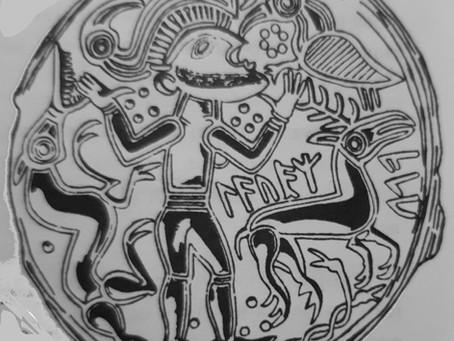 Неясные образы на древних брактеатах