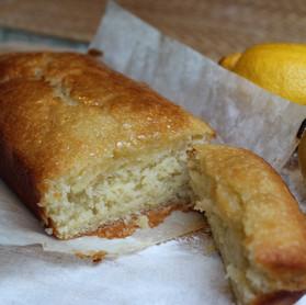 The Best (Vegan) Lemon Drizzle Cake