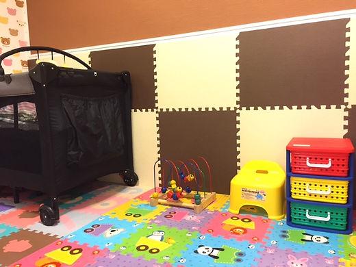 無料託児室 美容室