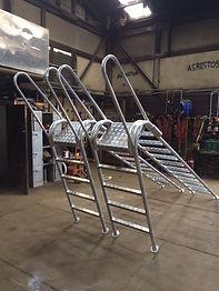 Aluminium Access Ladders