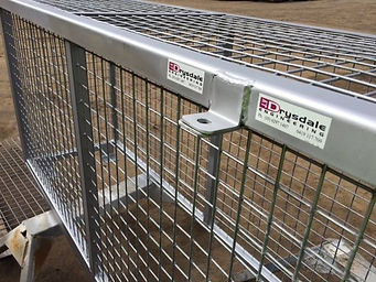 Galvanised Security Cage